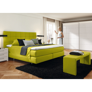 Couture Boxspringbett T-Fix mit Wandpaneel Toronto Q